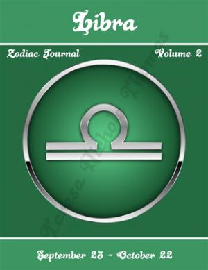 Libra Zodiac Journal Volume 2 Pic 01