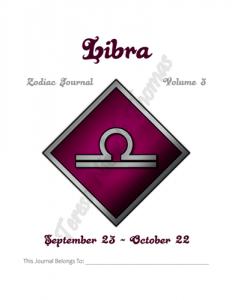 Libra Zodiac Journal Volume 3 Pic 02