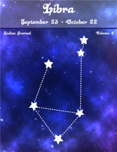 Libra Zodiac Journal Volume 4 Pic 01