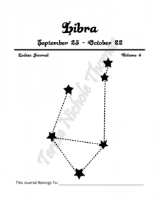 Libra Zodiac Journal Volume 4 Pic 02