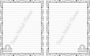 Libra Zodiac Journal Volume 5 Pic 02