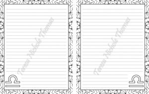 Libra Zodiac Journal Volume 5 Pic 03