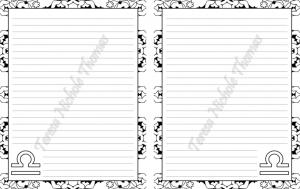 Libra Zodiac Journal Volume 5 Pic 06