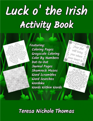 Luck o' the Irish Activity Book Cover