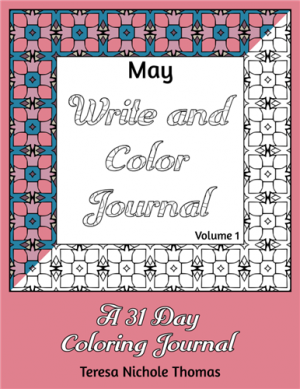 May Write and Color Journal Volume 1 Cover