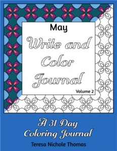 May Write and Color Journal Volume 2 Cover