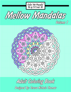 Mellow Mandalas Adult Coloring Book Volume 01 Cover