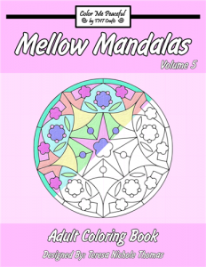 Mellow Mandalas Adult Coloring Book Volume 05 Cover