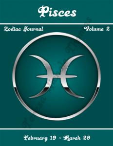 Pisces Zodiac Journal Volume 2 Pic 01