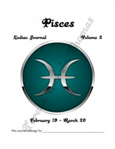 Pisces Zodiac Journal Volume 2 Pic 02