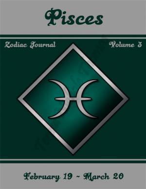 Pisces Zodiac Journal Volume 3 Pic 01