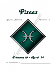 Pisces Zodiac Journal Volume 3 Pic 02