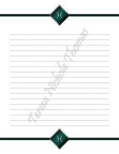 Pisces Zodiac Journal Volume 3 Pic 03
