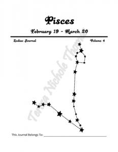 Pisces Zodiac Journal Volume 4 Pic 02