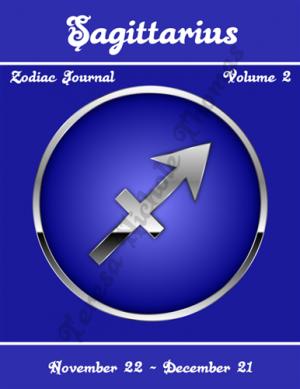 Sagittarius Zodiac Journal Volume 2 Pic 01
