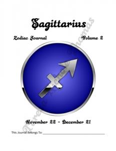 Sagittarius Zodiac Journal Volume 2 Pic 02