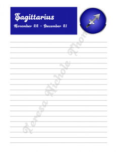 Sagittarius Zodiac Journal Volume 2 Pic 03