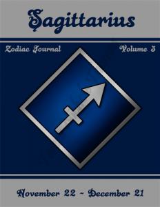 Sagittarius Zodiac Journal Volume 3 Pic 01