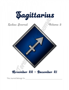 Sagittarius Zodiac Journal Volume 3 Pic 02