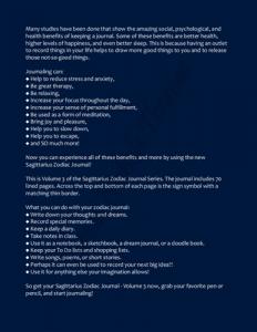 Sagittarius Zodiac Journal Volume 3 Pic 04