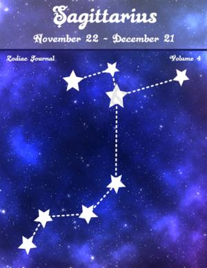 Sagittarius Zodiac Journal Volume 4 Pic 01
