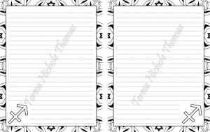 Sagittarius Zodiac Journal Volume 5 Pic 03
