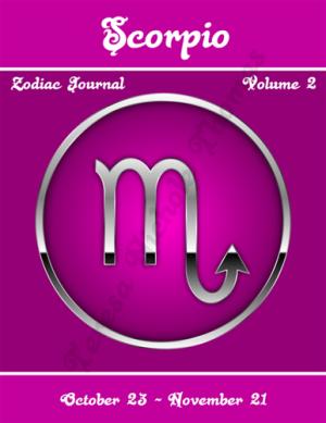 Scorpio Zodiac Journal Volume 2 Pic 01