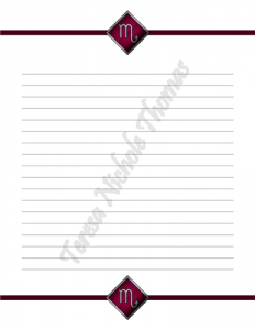 Scorpio Zodiac Journal Volume 3 Pic 03