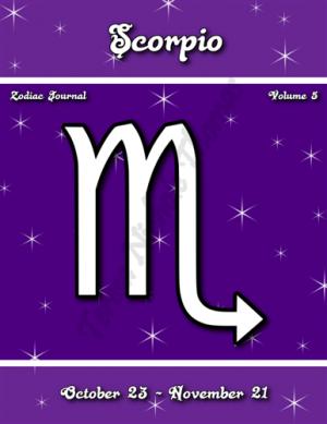 Scorpio Zodiac Journal Volume 5 Pic 01