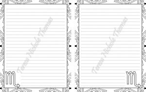 Scorpio Zodiac Journal Volume 5 Pic 06