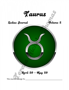 Taurus Zodiac Journal Volume 2 Pic 02