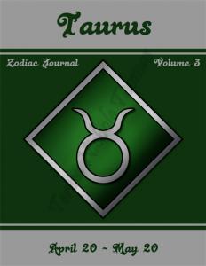 Taurus Zodiac Journal Volume 3 Pic 01