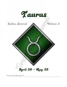 Taurus Zodiac Journal Volume 3 Pic 02