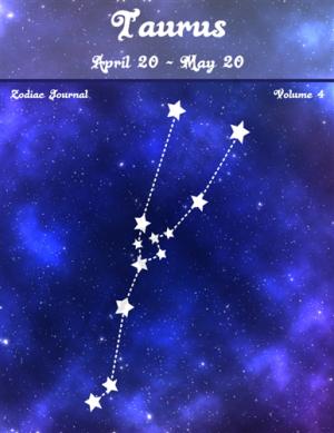 Taurus Zodiac Journal Volume 4 Pic 01