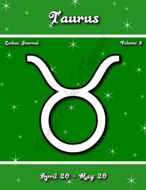 Taurus Zodiac Journal Volume 5 Pic 01
