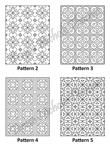 Tranquil Patterns Adult Coloring Book Volume 01 Pic 02