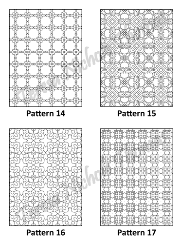 Tranquil Patterns Adult Coloring Book Volume 01 Pic 05