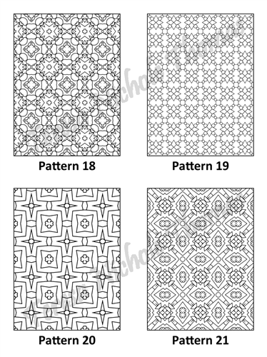Tranquil Patterns Adult Coloring Book Volume 1 Pic 06