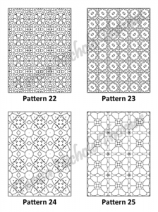 Tranquil Patterns Adult Coloring Book Volume 1 Pic 07