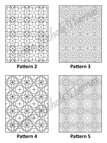 Tranquil Patterns Adult Coloring Book Volume 02 Pic 02