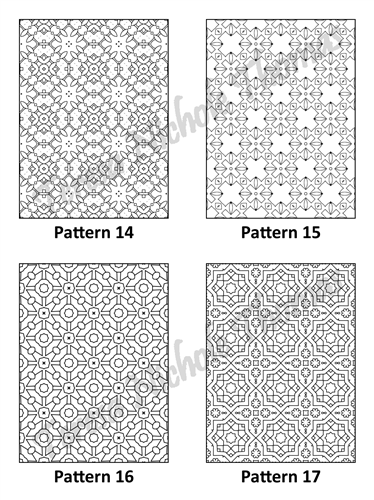 Tranquil Patterns Adult Coloring Book Volume 02 Pic 05