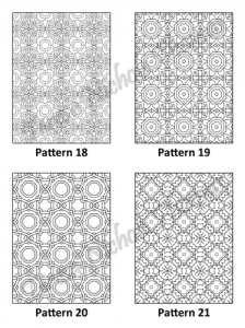 Tranquil Patterns Adult Coloring Book Volume 2 Pic 06