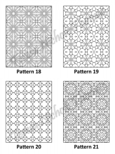 Tranquil Patterns Adult Coloring Book Volume 3 Pic 06