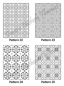 Tranquil Patterns Adult Coloring Book Volume 3 Pic 07