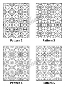 Tranquil Patterns Adult Coloring Book Volume 5 Pic 02