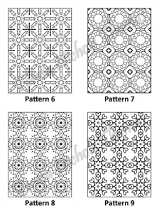 Tranquil Patterns Adult Coloring Book Volume 5 Pic 03