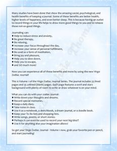 Virgo Zodiac Journal Volume 1 Pic 05
