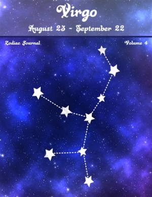 Virgo Zodiac Journal Volume 4 Pic 01