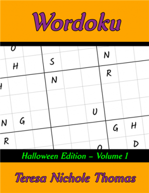 Wordoku Halloween Edition Volume 1 Cover
