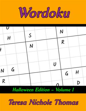 Wordoku Halloween Edition Volume 1 Cover